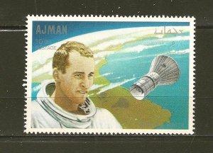 Ajman Astronaut Edward White 10DH Stamp MNH