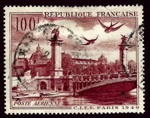 France SC C28 Used F-VF hr...le meilleur de france!