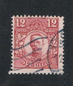 Sweden 81 Used Gustaf V (S0373)