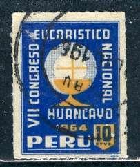 Peru; 1962: Sc. # RA41: O/Used Cpl. Set