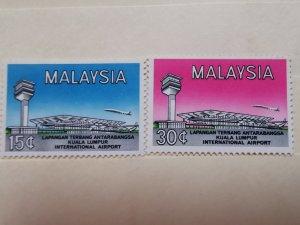 MALAYSIA 1965 OPENING OF INTERNATIONAL AIRPORT KUALA LUMPUR IN  MINT CONDITION