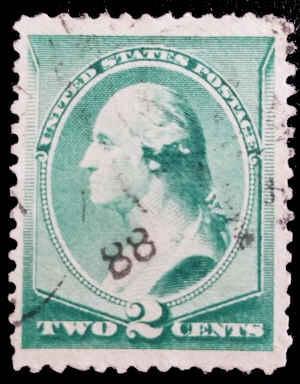 Scott #212-214 Grp of 3, US, Franklin (1) Washington (2) 1887 - Read Description
