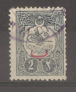 Turkey 1909 2pi SG292A Fine Used