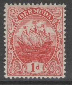 BERMUDA SG46 1910 1d RED MTD MINT