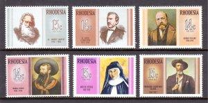Rhodesia - Scott #298-303 - MNH - SCV $7.00