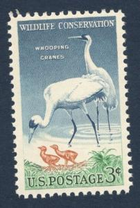 1098 Whooping Cranes US Single Mint/nh (Free shipping)