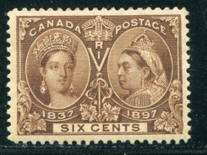 Canada #55  Mint XF  -    Lakeshore Philatelics