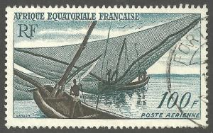 FRENCH EQUATORIAL AFRICA SCOTT C40