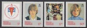 British Antarctic Territory 92-5 Princess Diana mnh