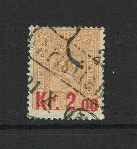 Norway SC# 61, Used, Hinge Remnant - S9380