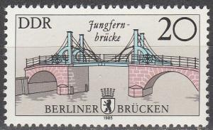 DDR #2501  MNH  (S6882)