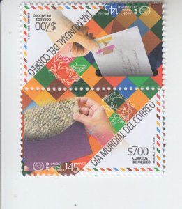 2019 Mexico World Post Day S. O. S. Pr (Scott NA) MNH