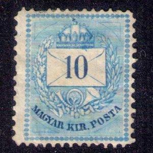 Hungary Michel  18E (Sc #16b) Unused,Mint,No Gum Rare Perf 13x11-1/2  Fine