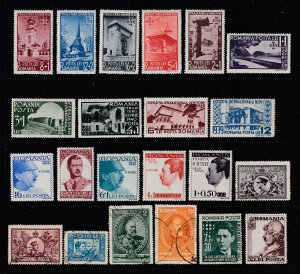 Romania a M&U lot from 1930-40's