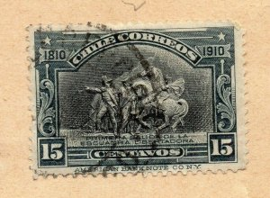 Chile 1894-95 Early Issue Fine Used 15c. NW-09269