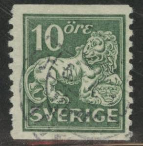 SWEDEN Scott 124 Used wmk 181