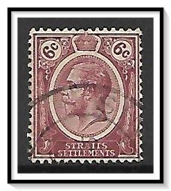 Straits Settlements #188 KG V Used