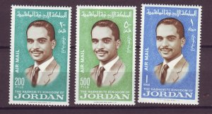 J25525 JLstamps 1966 jordan set mh #c43-5 king