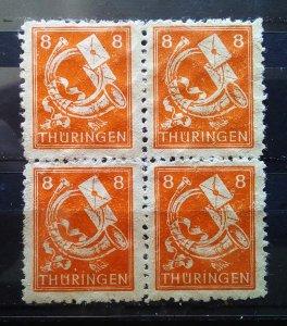 Germany Thuringen 96AY yy **