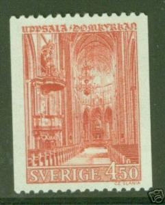 SWEDEN Uppsala Cathedral stamp Scott 721 MNH**