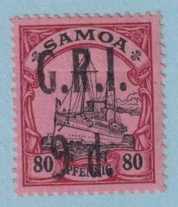 SAMOA 109  MINT HINGE REMNANT OG * NO FAULTS EXTRA FINE!