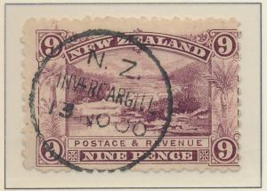 New Zealand Stamp Scott #95, Used - Free U.S. Shipping, Free Worldwide Shippi...