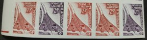 O) 1973 NEW CALEDONIA, IMPERFORATE, CONCORDE, SCT C99 23fr, MNH