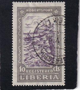 Liberia,  #  F34   used