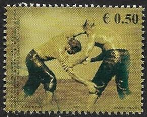 United Nations - Kosovo - # 85 - Wrestlers - used