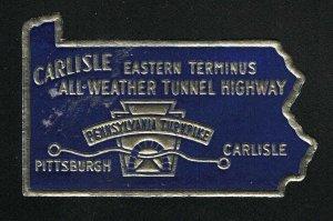 Pennsylvania Turnpike - Carlisle - Eastern Terminus - All-Weather Hwy - Label