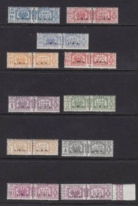 1927-37 Libya, Packs Post N°14/24 MNH