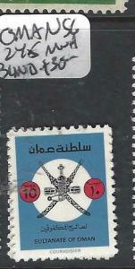 OMAN   (P1905B)  BLIND  SG 245   MNH
