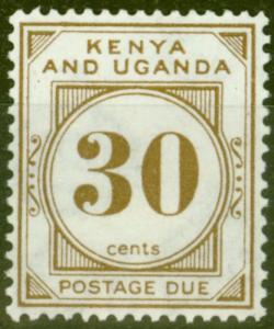KUT 1931 30c Brown SGD4 Fine & Fresh Lightly Mtd Mint