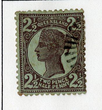 QUEENSLAND 116 USED SCV $3.50 BIN $1.50 ROYALTY