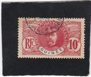 French  Guinea  #   37   used