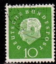 Germany - #794 Pres. Theodor Heuss - Used