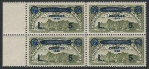 San Marino, Sc C12, MNH Block of four