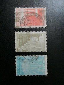 Brazil #312-14 Used (N7U2) WDWPhilatelic