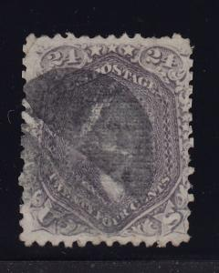 99 F-VF used neat cancel scarce F-grill with nice color cv $ 1600  ! see pic !