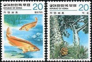 Korea South 1979 SG1348 Nature Conservation set MNH