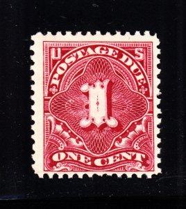 US J38 1c Postage Due Mint F-VF OG NH SCV $40