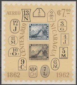 Nicaragua #C509a  MNH VF CV $3.50 (V2827L)
