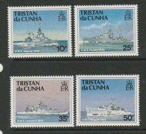 Tristan Da Cunha 1994 Royal Navy Ships, 3rd Series UM/MNH SG 565/8