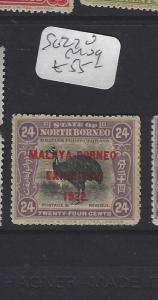 NORTH BORNEO  (P1601BB)  24C BIRD MBE SG  270  MOG