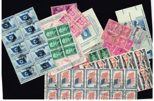 US STAMP 20TH USED US BLK STAMPS COLLECTION LOT