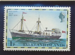 Falkland Islands Stamp Scott #260, Mint Never Hinged - Free U.S. Shipping, Fr...