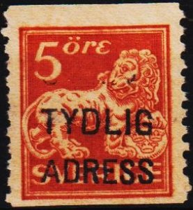 Sweden. 1920 5ore S.G.97A Fine Used