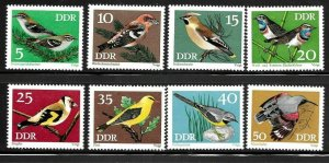 1453-60 DDR Germany - 1973 Song Birds - MLH VF -  superfleas