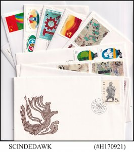 CHINA - 1983-88 SELECTED FIRST DAY COVERS - 10nos