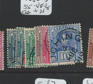 SARAWAK (P0703B)  SG50-3, 55  VFU
